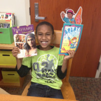 Our signature program is Power Read, where we pair each student with one of our caring volunteers for a focused one-to-one reading experience